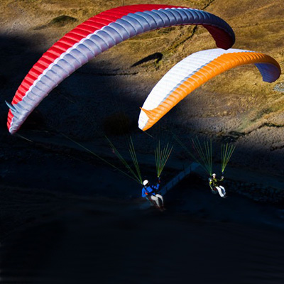 First Paragliders - Ambitious