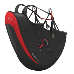 Reversible Paragliding Harnesses