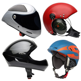All Flying Helmets