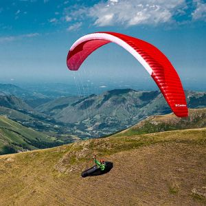 Gin Camino light EN C rated sports XC paraglider | Colour Red
