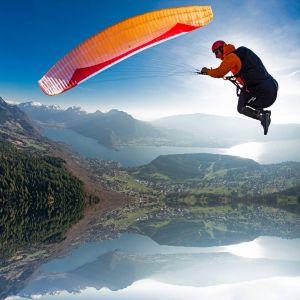Gin Explorer lightweight paraglider in standard colour 'Orange'