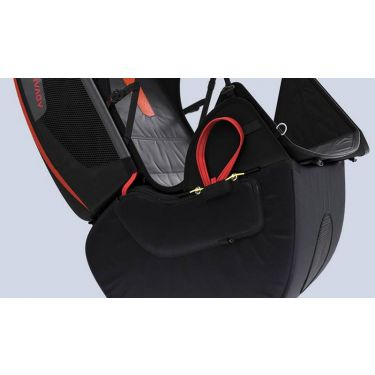 Removable airbag with reserve compartment for Advance EASINESS 2 reversible harness / rucksack (harness not included)