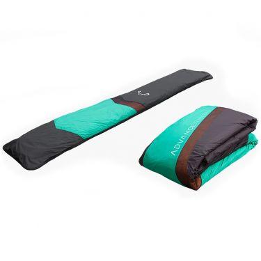 Advance TUBEBAG light paraglider concertina packing bag.