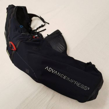Advance IMPRESS 3 M Black-Lime 01118316
