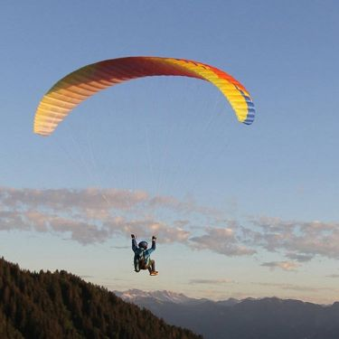 BGD KISS simple mountain paraglider