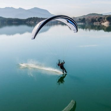 Gin Carve freestyle-slalom paramotor wing | colour King