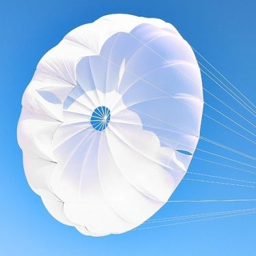 Gin G-Lite emergency reserve parachute for paragliding and paramotoring