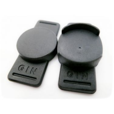 Gin Magnetic Poppers 14mm (One Pair)