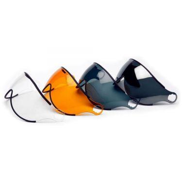 Icaro Nerv Visor: Transparent | Tinted Orange | Tinted Grey | Mirror
