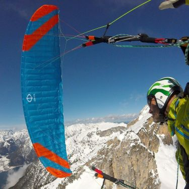 Phi SONATA first paraglider