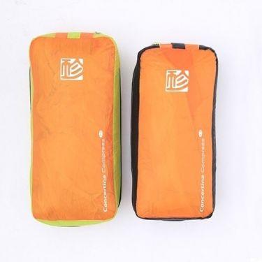 Left to right: 3.0m Lime & Orange, 2.7m Black & Orange