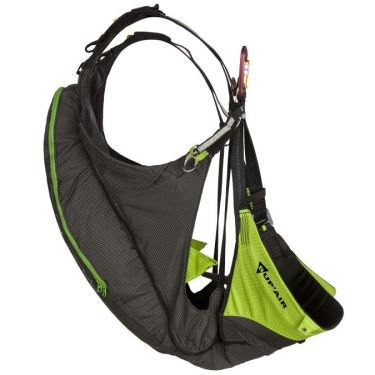 Radical 3 harness, without optional airbag/backpack back protector module transforms the Radical 3 into a fully reversible full airbag harness/backpack.