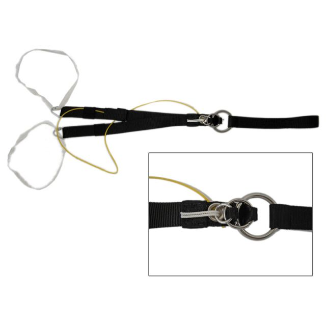 Paragliding Tow Bridle 3-Ring Release System