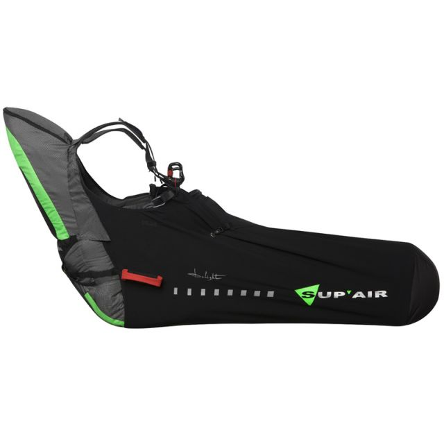 Sup'Air Delight - Ultra-Light Paragliding Pod Harness > Side View