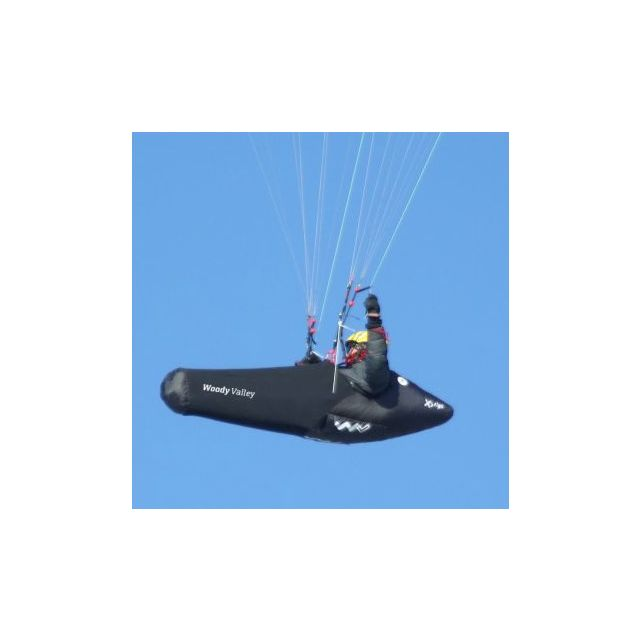 Woody Valley X-Alps 2011 - Ultra-Light Paragliding Pod Harness