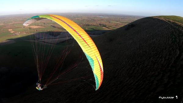 BGD CURE 2 sports paraglider review