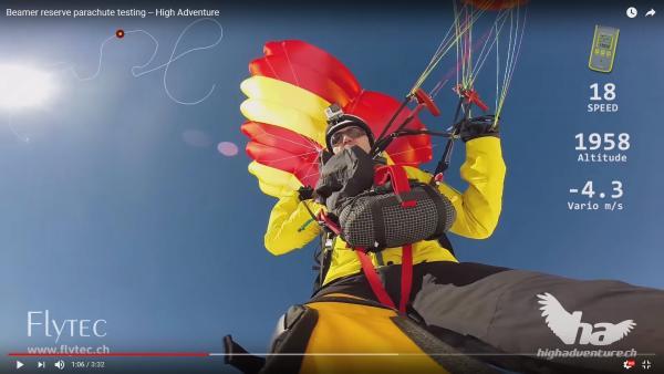 Urs Haari and the Modern Reserve Parachute