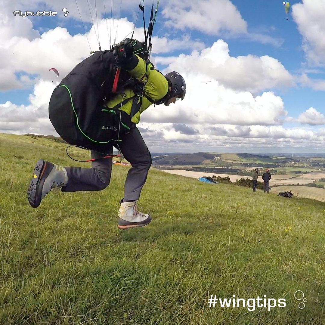 Paragliding Safety: Launch & Landing Stance
