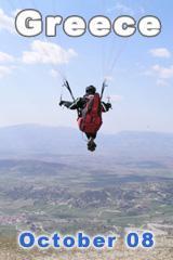 Greece Paragliding Trip October 2008