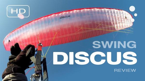 Swing DISCUS (EN-A) paraglider review
