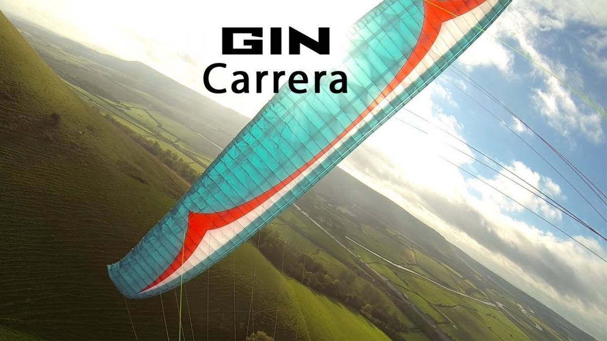 Gin Carrera paraglider review (first flights)
