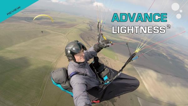 Advance LIGHTNESS 2 pod paragliding harness reviews