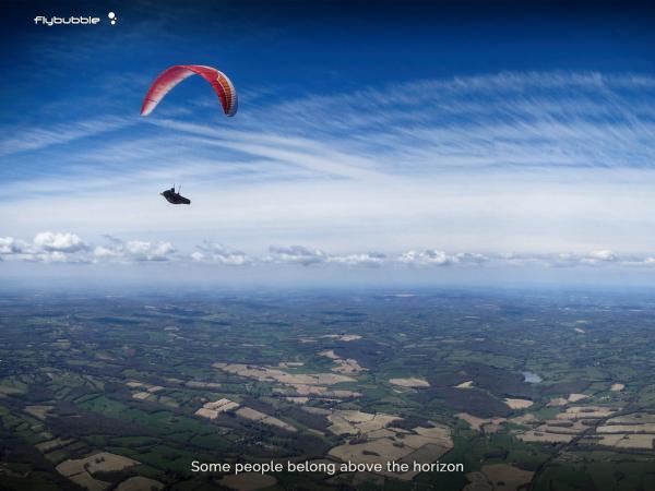 Freeflight: Above the horizon