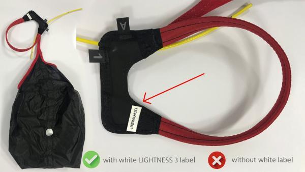 Safety Notice: Advance LIGHTNESS 3