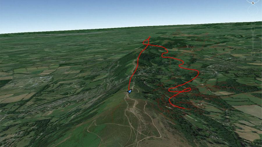 Paragliding Incident Analysis: Paraglider Collapse and Reserve Ride