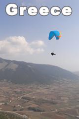 Greece Paragliding Trip April 2009