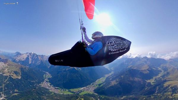 Into the blue: flying XC on blue thermal days