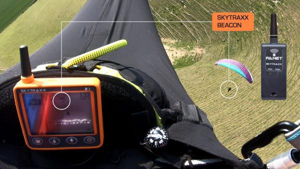 Skytraxx Beacon (flight alarm and tracker)