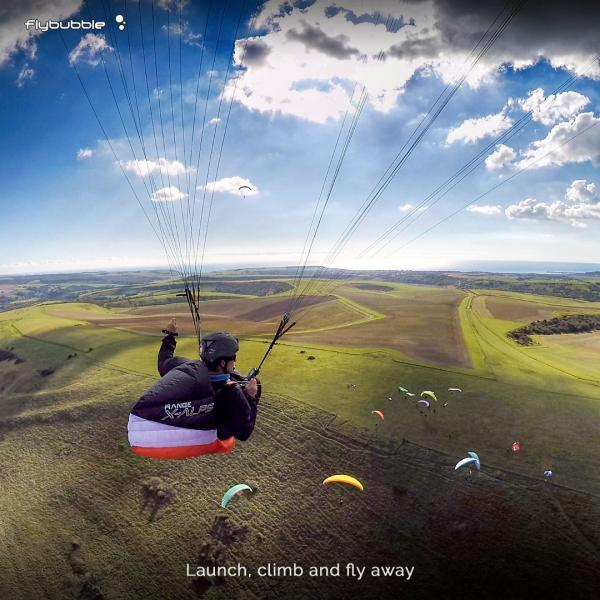 Freeflight: Launch, climb and fly away