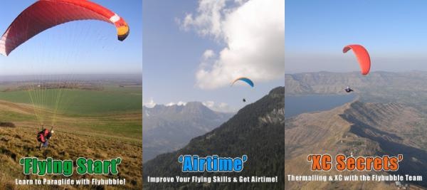 Paragliding Trips & Courses Abroad 2010-2011