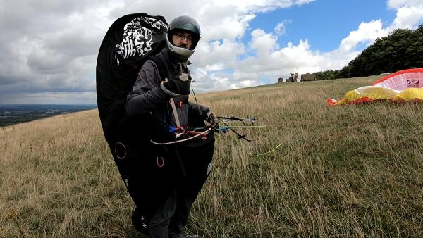 Gin Genie Race 4 pod paragliding harness review