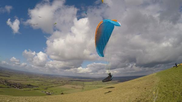 Advance ALPHA 6 paraglider review (Carlo Borsattino)