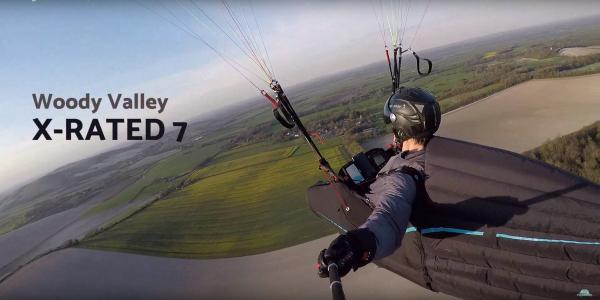 Woody Valley X-Rated7 competition paragliding harness review