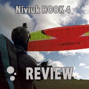 Niviuk Hook 4 paraglider review