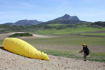 Flybubble Spain Flying Start Paragliding Course March 2013