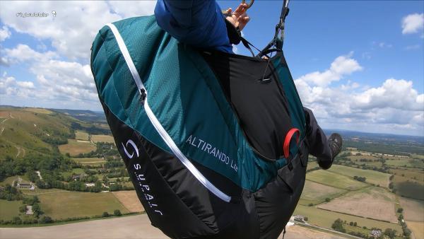 Supair ALTIRANDO LITE paragliding harness review