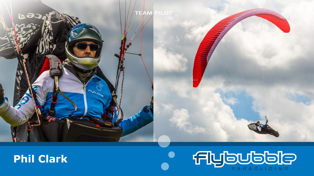 Phil Clark (Flybubble Team Pilot)