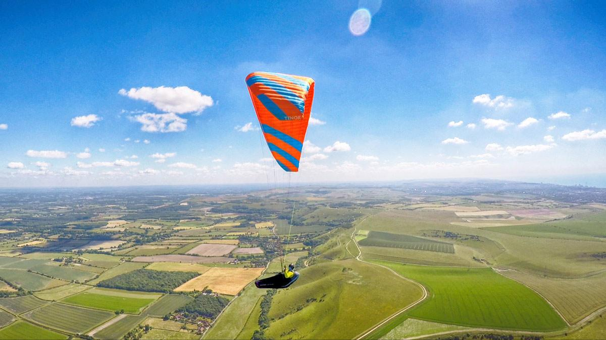 Phi TENOR paraglider review