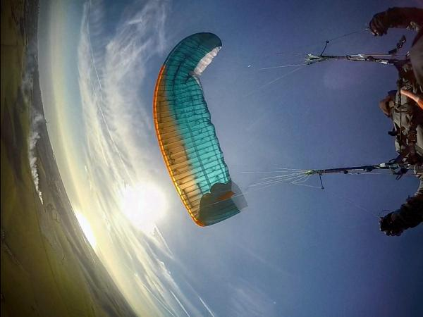 Paraglider Control: Stall, Spin, Collapse!