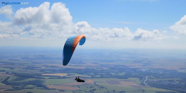 Paragliding XC Devils Dyke to Margate 06.08.2016