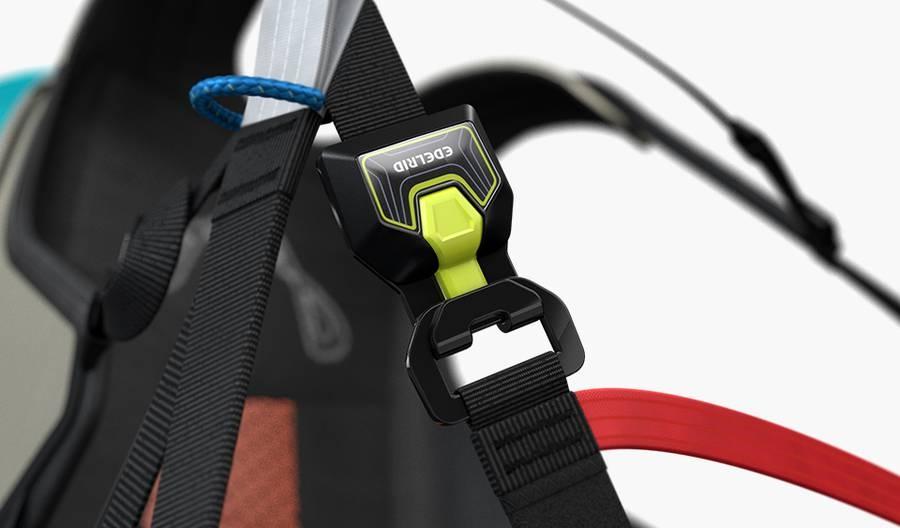New EDELRID Triple-Lock-Buckles