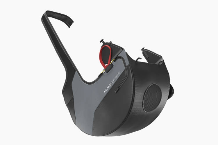 Modern zip-off airbag protector