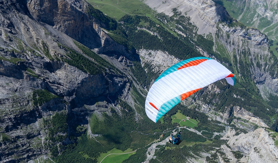 Advance PI 3 light paraglider - Flybubble