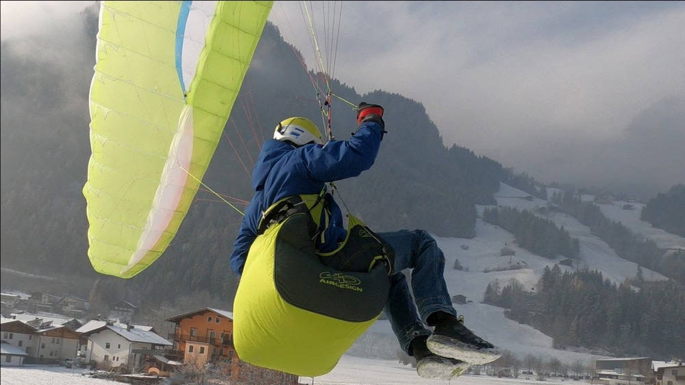 Le Slip Full Kit: ultralight mountain harness with removable certified airbag