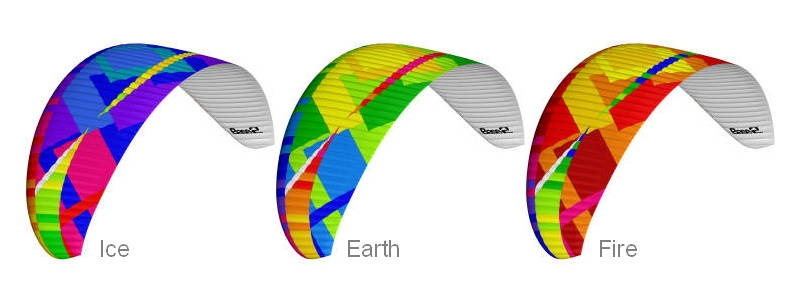 BGD BASE 2 colours: Ice, Earth, Fire