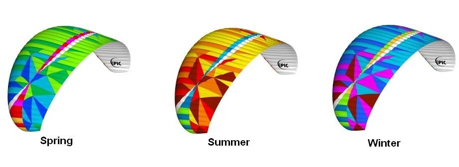BGD Epic Colours, весна, лето, зима